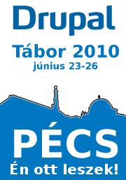 Drupal Tábor Pécs 2010-banner